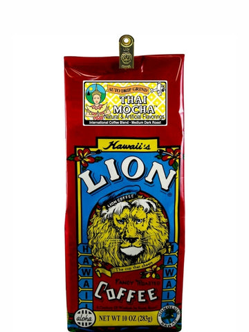 Lion Thai Mocha Coffee (10oz) - RudiGourmand