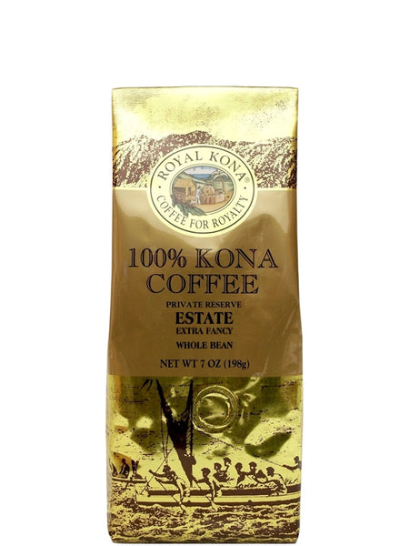 Royal Kona Estate 100% Kona Coffee (7 oz) - RudiGourmand