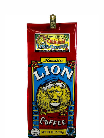 Lion Original Gourmet Coffee (10 oz) - RudiGourmand
