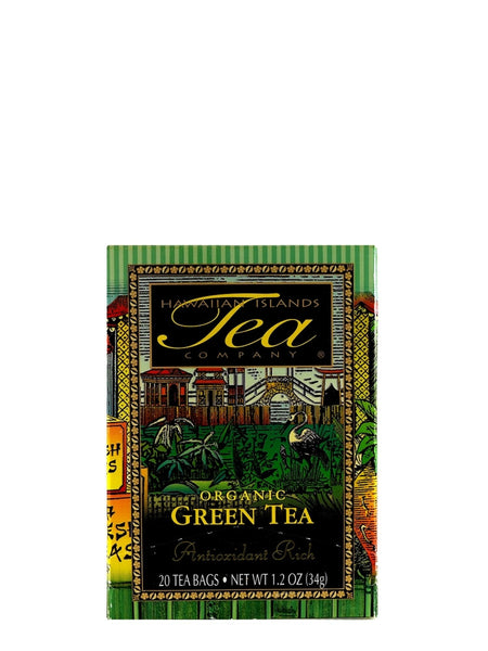 Hawaiian Islands Organic Green Tea - RudiGourmand