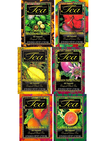 Tropical Tea Assortment - RudiGourmand
