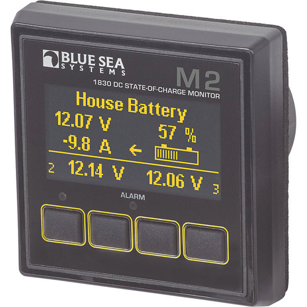 Blue Sea M2 Battery State of Charge Monitor