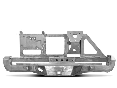 CBI T3 Rear Bumper with Swing Away Tire Carrier (3rd Gen Tacoma)