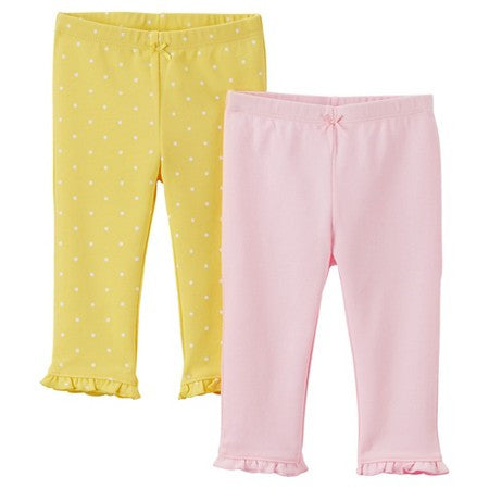 08a651ae4 Carter's Just One You Girl's 2 Pack Pants – Foreign se Forun