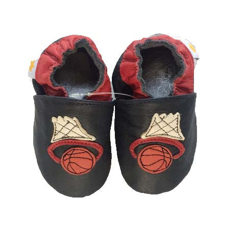 Ministar Genuine Leather Soft Baby shoes Basketball design