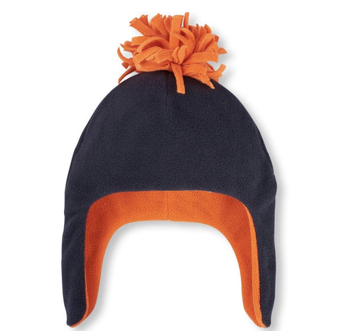 Children's Place Glacier Fleece Pom Pom Hat