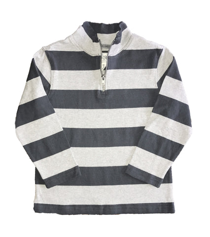 Childrens Place Rugby Striped Pullover Top