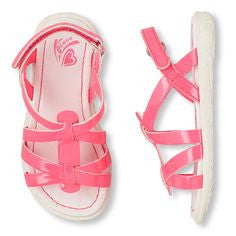 Children's Place Canary Boardwalk Strappy Sandal (Toddler/Little Kid) flipflop