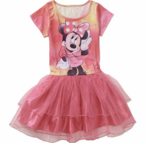 Disney Minnie Mouse Sublimated Tutu Dress