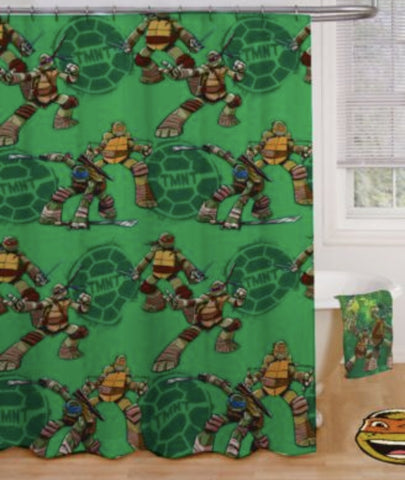 Nickelodeon Teenage Mutant Ninja Turtles Fabric Shower Curtain Foreign Se Forun