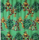 Nickelodeon Teenage Mutant Ninja Turtles Fabric  Shower Curtain