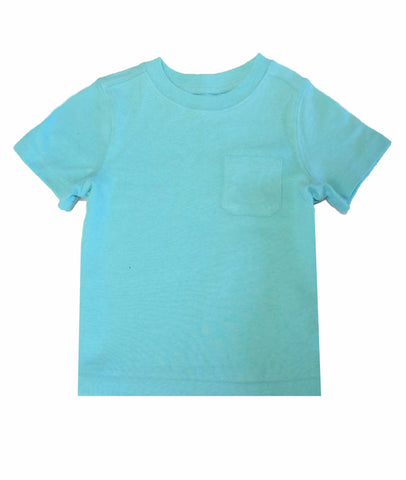 Mix&Match front pocket aqua tee by old navy