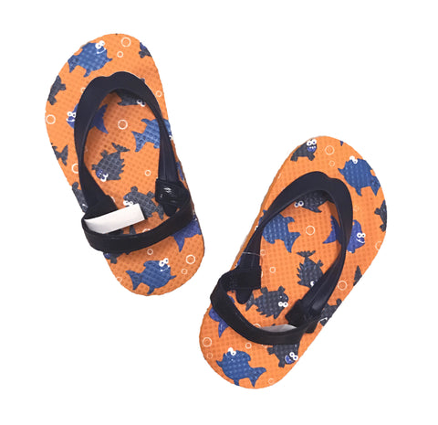 Children's Place Toddler Boy Fish Flip Flops