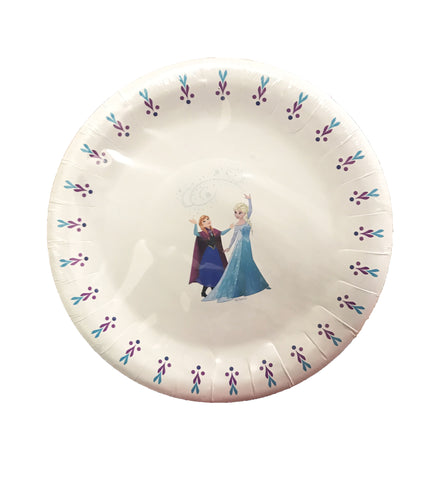 Disney Frozen Party Paper Plates