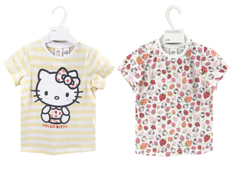 H&M Hello Kitty T Shirts 2 Pack