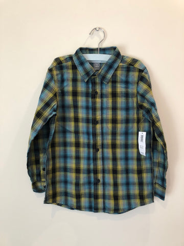 Old Navy Button Up Shirt Plaid