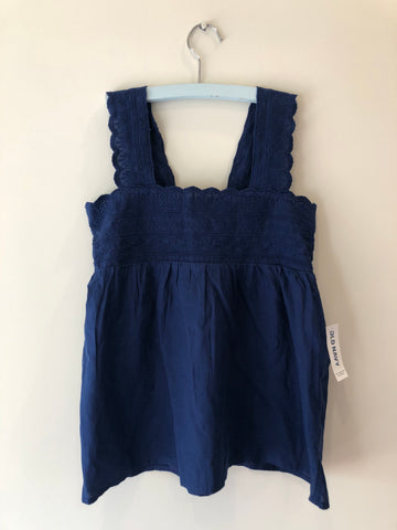 Old Navy Girls Embroidered Sleeveless Top