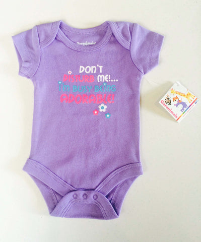 """Dont Disturb Me"" Onesie by garanimals"
