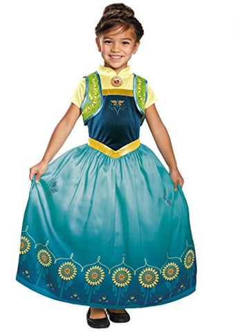 Disney Frozen Fever Anna Costume