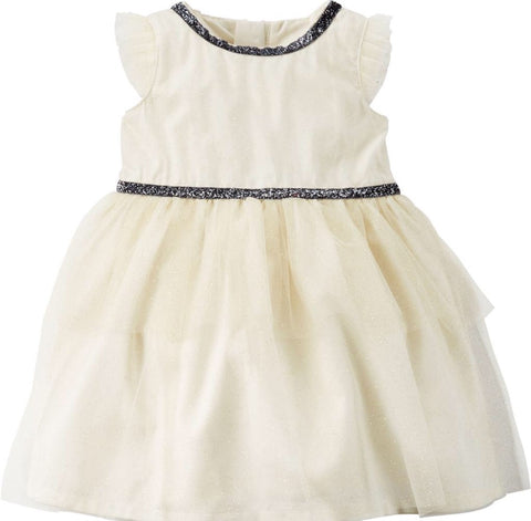 Carter's Glitter Tiered Tulle Dress