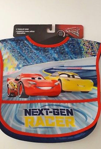 3a6fbd463cd3 Disney Pixar Cars 2 Pack Toddler Bibs – Foreign se Forun