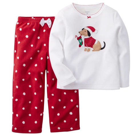 Carter's Girl 2 Piece Fleece PJ Set