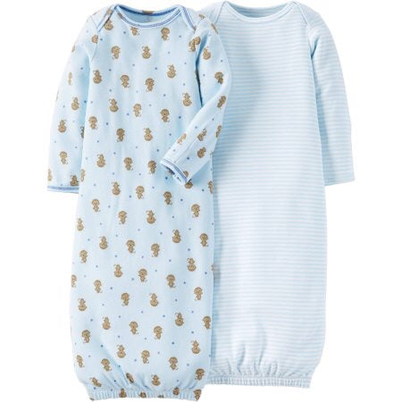 Carter's  Baby boy 2 piece Sleeping gowns