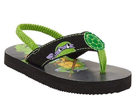 650ab0ca558d Teenage Mutant Ninja Turtles Toddler Boys  Beach Flip Flop