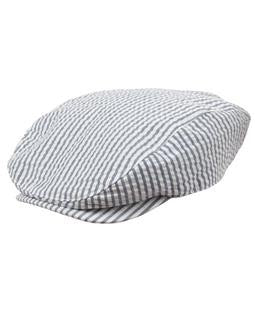 Crazy 8 Striped Paper Boy Cap