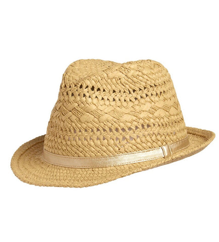 Crazy 8 Girls Straw Fedora