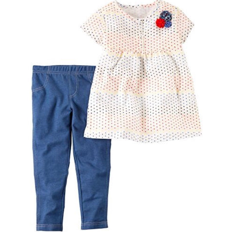 Carter's Baby Girls' 2 Pc Playwear Sets