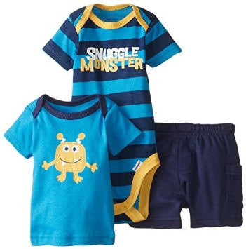 Gerber Boys 3 Piece Set Blue (Halloween)