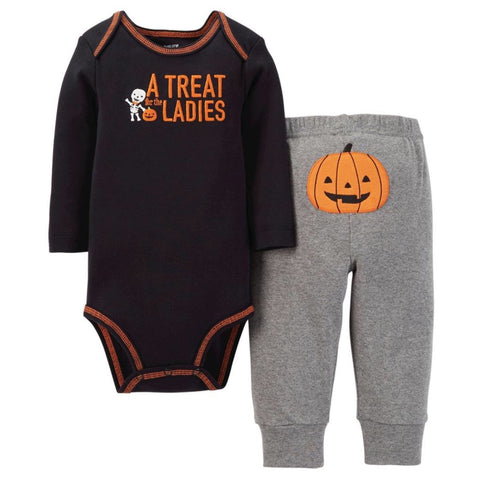 Carter's JOY Boys Halloween Bodysuit and Pant Set