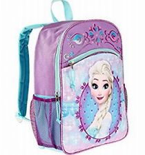 Disney Frozen Princess Elsa Sequinned School Backpack