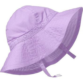 Old Navy Baby Girl Sun Hat - Purple – Foreign se Forun e592cae40b7