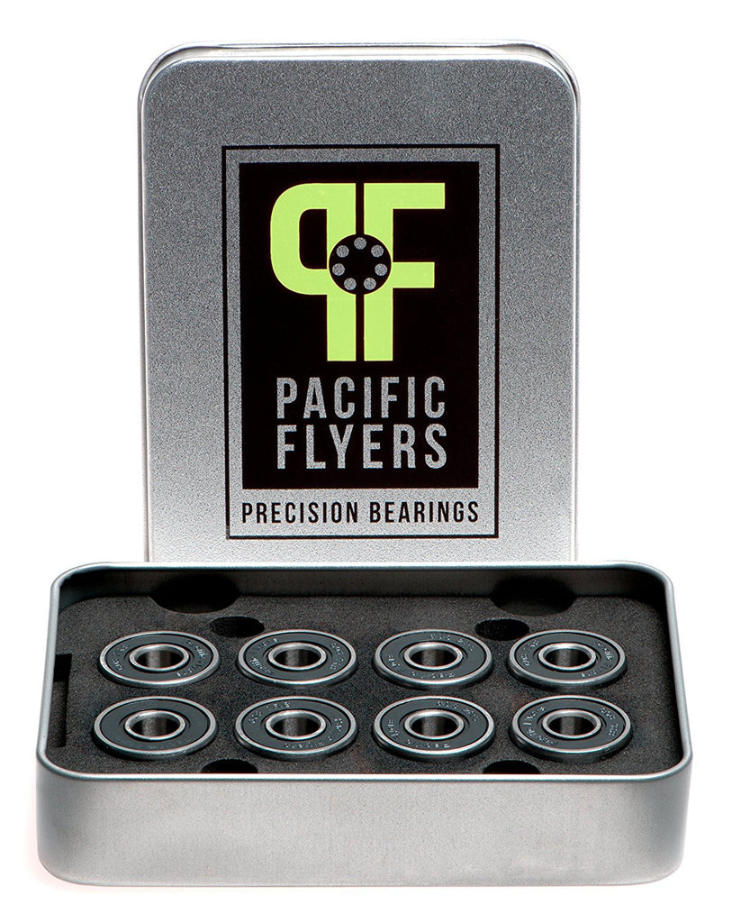 Pacific Flyers Premium ABEC 9 Skateboard Bearings
