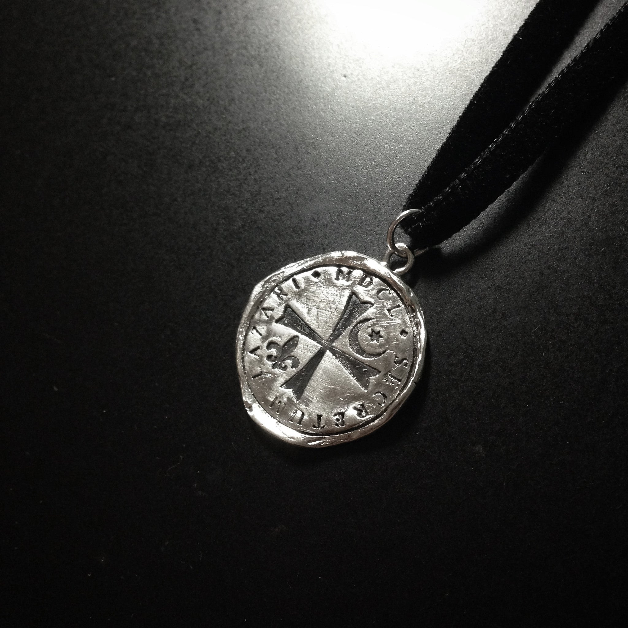 Knights of Lazarus of Bethany Seal Charm