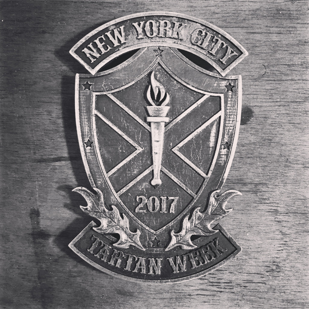 2017 NYC Tartan Week Silver Pin