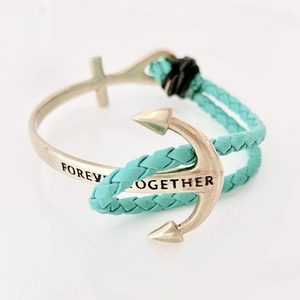 SALE Forever Together Large Anchor Bracelet