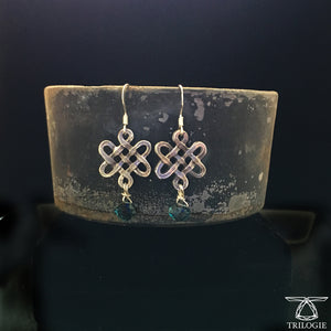 The Serendipity Knot Earrings