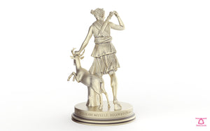 The Huntress Chess Piece