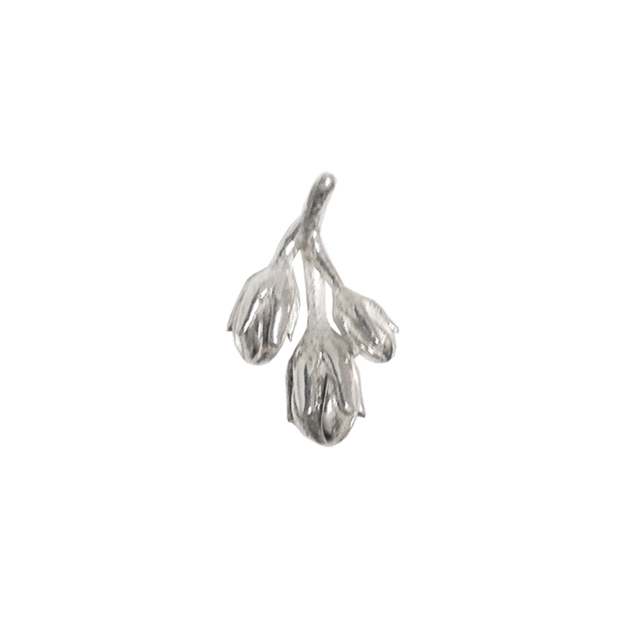 CONJURE Single Silver Earrings