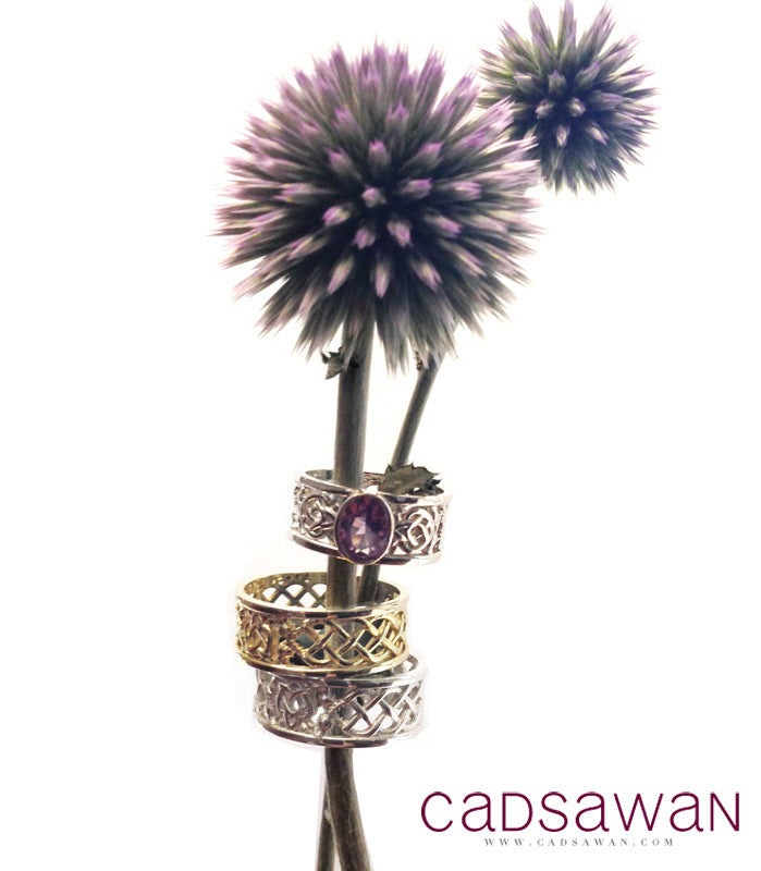 Thistle Woven Ring