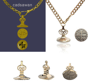 Matthew Clairmont Seal & Necklace
