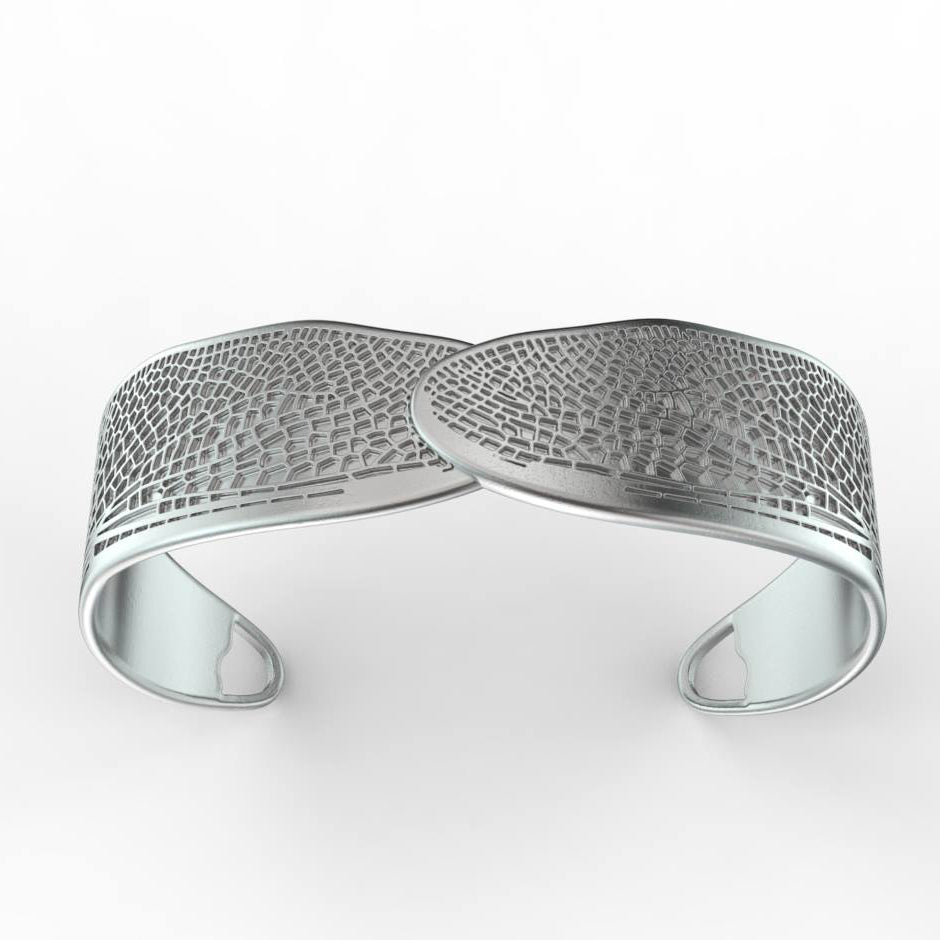 CONJURE Silver Dragonfly Cuff