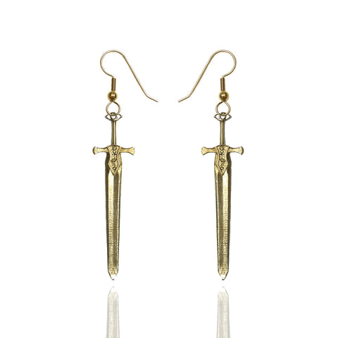 Damaris Sword Earrings