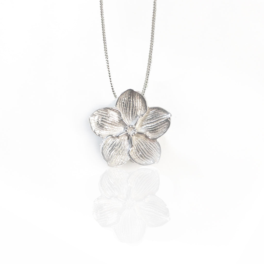 Forget-me-not Single Bloom Pendant