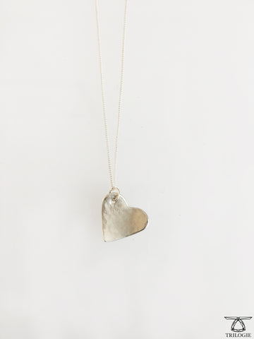 Sample Sterling Silver Heart Necklace // Man in the High Castle