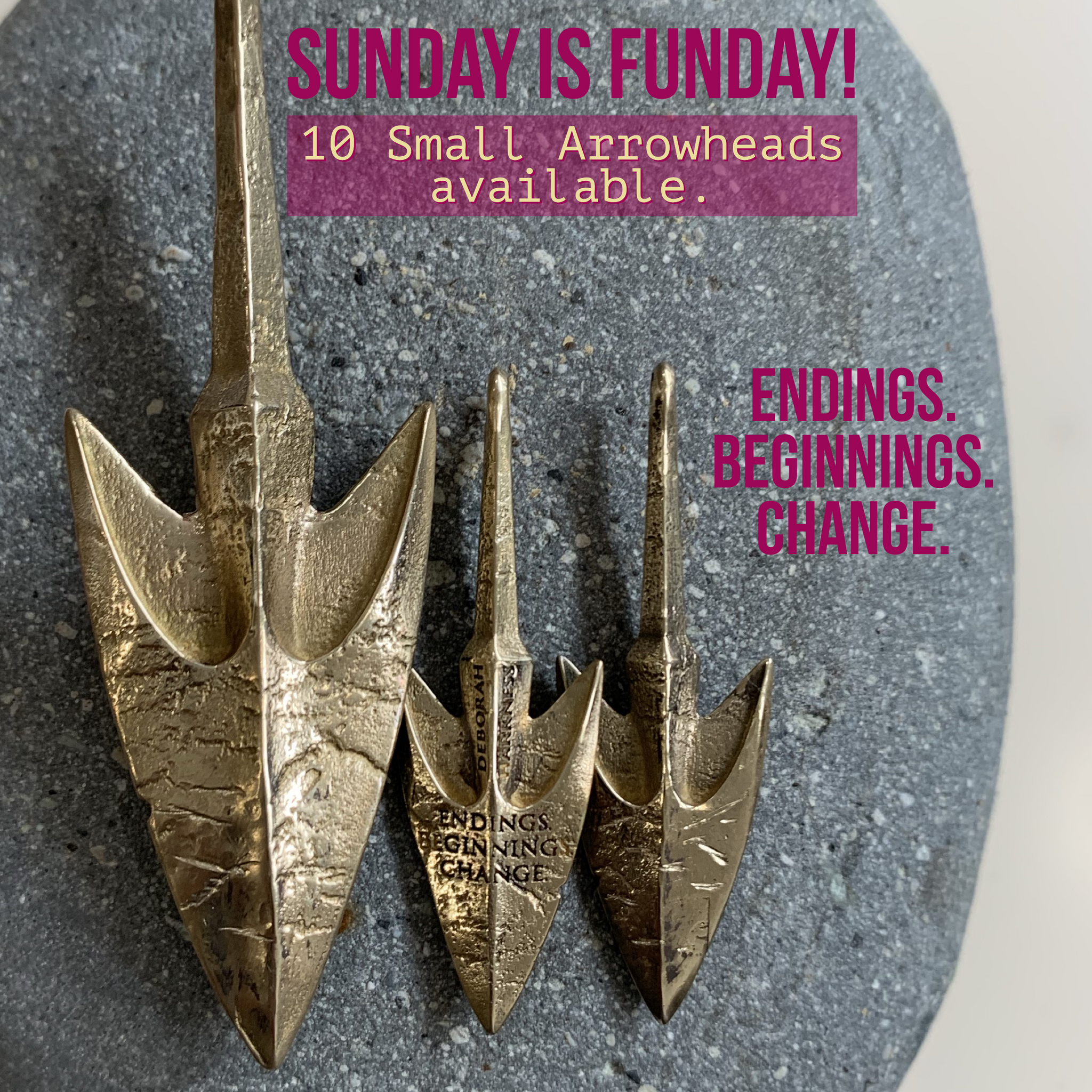 Sunday is FUNday Small Philippe's Ancient Arrowhead