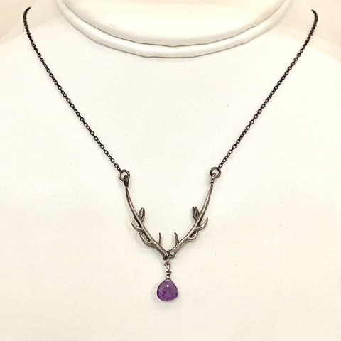 Stag of Destiny with Amethyst